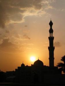 masjid-siluet