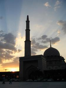siluet masjid 5