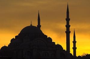Siluet masjid 10