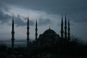 Siluet masjid 12