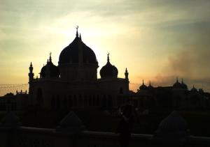 siluet masjid 13