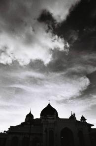 siluet masjid 9