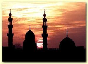 Siluet masjid 4