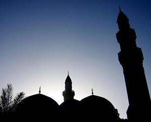 siluet masjid 2