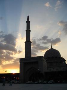 siluet masjid 7
