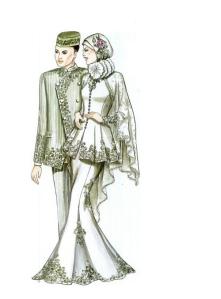 pengantin muslim