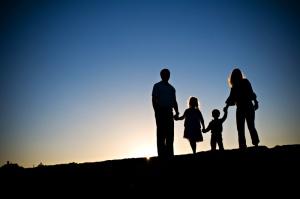 siluet keluarga 2