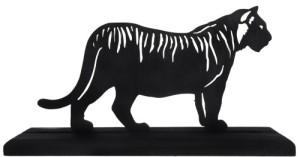 siluet harimau