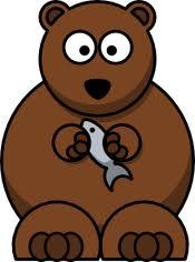 beruang ikan